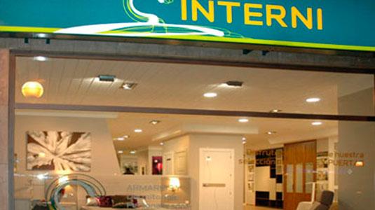 Tienda armarios a medida Interni en Vitoria