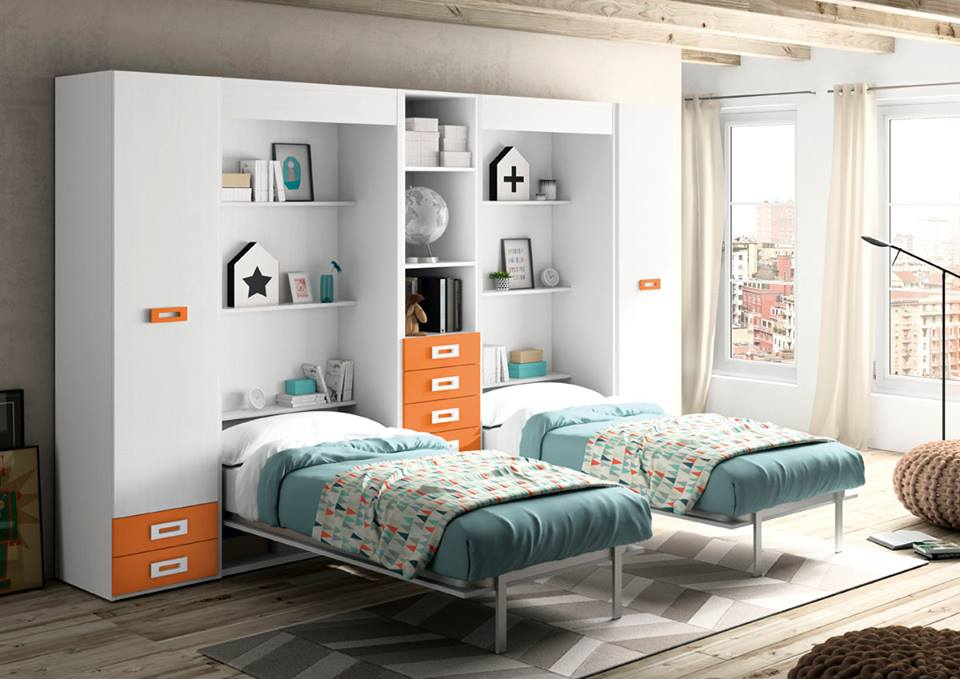 Muebles juveniles a medida interni home for Mobiliario dormitorio juvenil