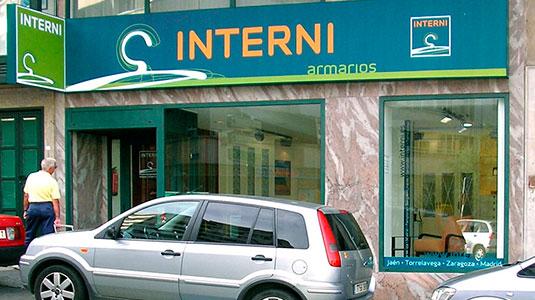 Tienda armarios a medida Interni en Santander
