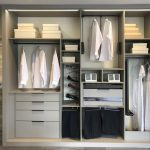 interior armario textura cuero
