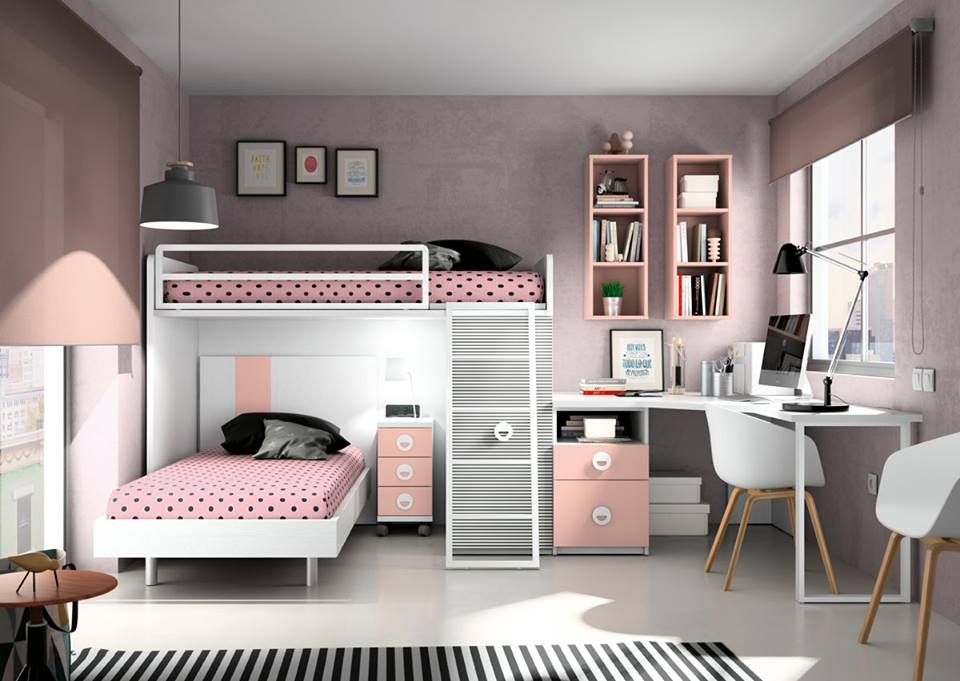 Muebles juveniles a medida interni home - Ideas para decorar dormitorio juvenil ...