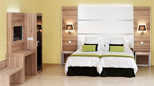 Dormitorio para hotel
