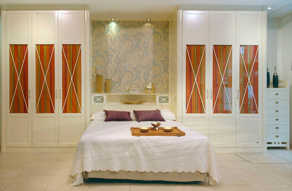 Outlet dormitorio puente en tono crema