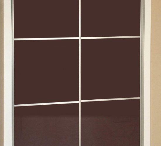 Armario puertas deslizantes en vidrios vison
