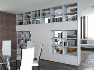 Separa espacios con armarios