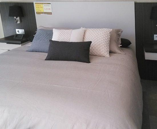 dormitorio larice gris