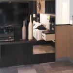 escritorio dormitorio larice gris