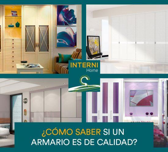 Como saber si un armario es de calidad - INTERNI - Armarios y muebles a medida Zaragoza