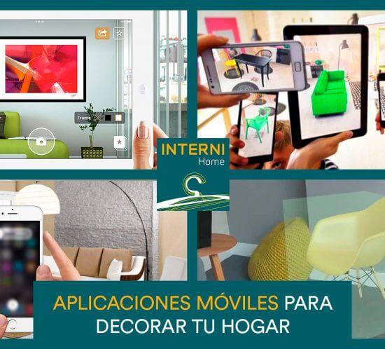 Aplicaciones moviles para decorar tu hogar